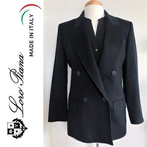 LORO PIANA Double-breasted Jacket Wool & Cashmere